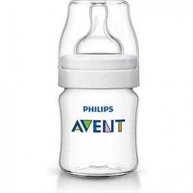 Philips Avent Bottles 1 x 4oz / 125 ml Classic+ Plus (PP) BPA Free-Single Pack