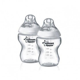 Tommee Tippee Closer To Nature BPA Free Bottles 260ml/9oz x 2