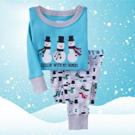 BabyGap Pyjamas 2T to 7T Three Snowmans