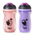 Tommee Tippee Insulated Sipper Tumbler Pink/Purple 9 Oz