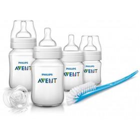 Philips Avent Classic Plus + Newborn Starter Kit Free Shipping-PP-BPA-Free England set