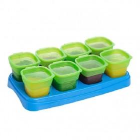 Autumnz EASY Breastmilk & Baby Food Storage Cups (2oz) 8pcs