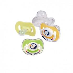 PUKU Pacifier 6-12m Yellow/Green