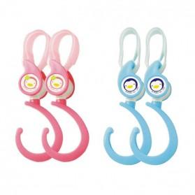 PUKU Safety Hook Blue/Pink