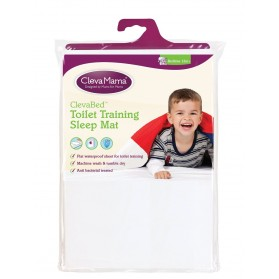 Clevamama Clevabed Toilet Training Sleep Mat White Colour
