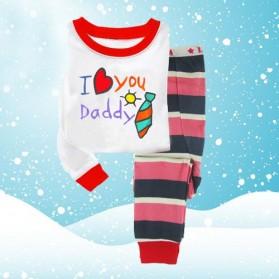 BabyGap Pyjamas 2T to 7T I Love You Daddy