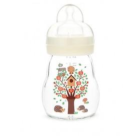 MAM Premium Glass Bottle 170ml Single Pack