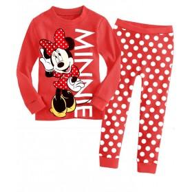 BabyGap Pyjamas 2T to 9T Minnie Red