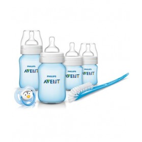 Philips Avent Classic + Plus Blue Newborn Starter Set - Free Shipping