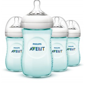 Philips Avent Bottle Natural 9oz / 260 ml Teal Single Loose Pack