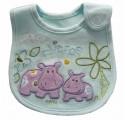 Carter's Bib - Happy Hippo