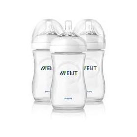 Philips AVENT Natural Range 260ml (9oz) x 3 Feeding Bottles