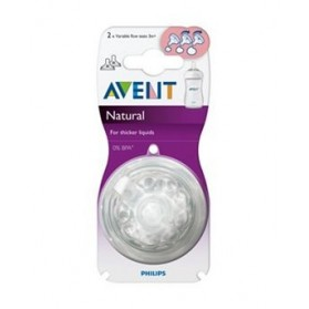 Philips Avent Teats Natural 3 Months Variable Flow
