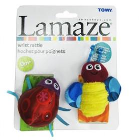 Lamaze Garden Bug Wrist Rattles Original Packing