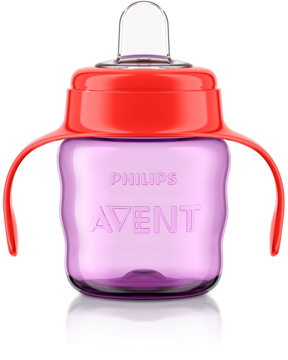 Philips Avent Easy Sip Spout Cup with Handle 200 ml Pink 6month