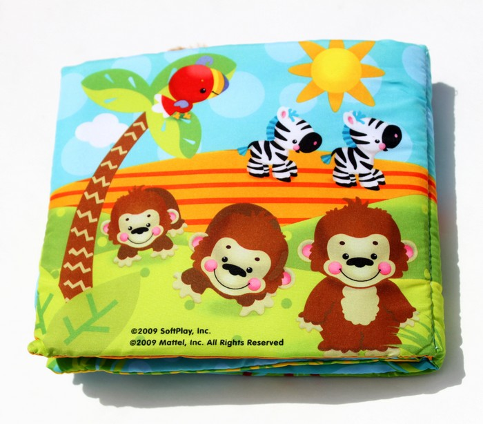 SoftPlay Fisher-Price Precious Planet Counting Book, Baby Animals