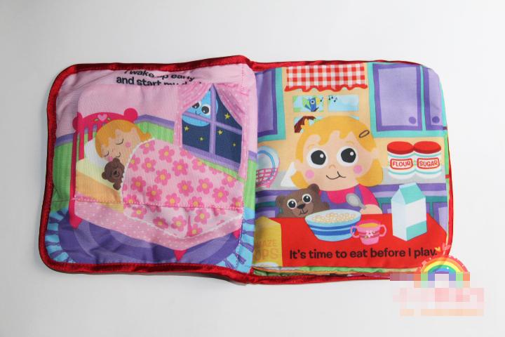 lamaze cloth book